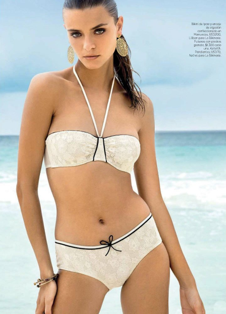 Lilibon Swimwear in Harpers Bazaar Argentina, January 2015